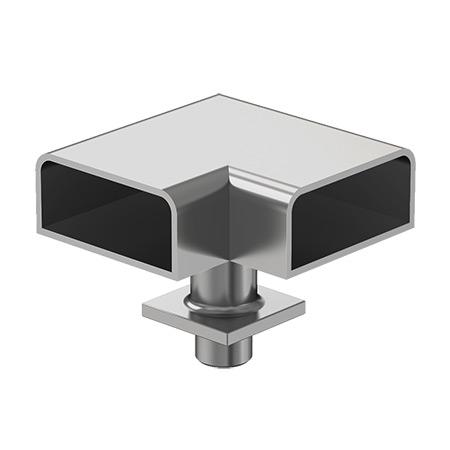 25x60 Mafsallı 90˚ Bilezikli Dönüş Takımı
